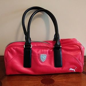 Puma Ferrari Red Purse Bag